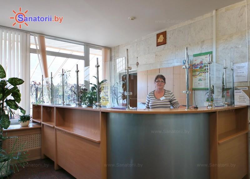 Санатории Белоруссии Беларуси - санаторий Зеленый бор - Регистратура
