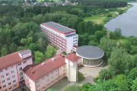 санатория Криница - Территория и природа