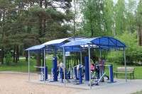 health resort Krinitsa - Outdoor gym