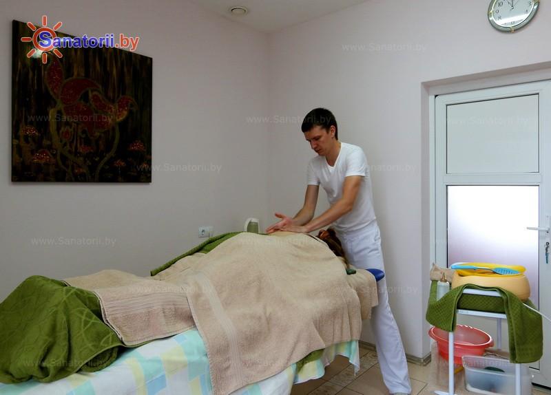 Санатории Белоруссии Беларуси - санаторий Криница - Стоунтерапия (массаж камнями)