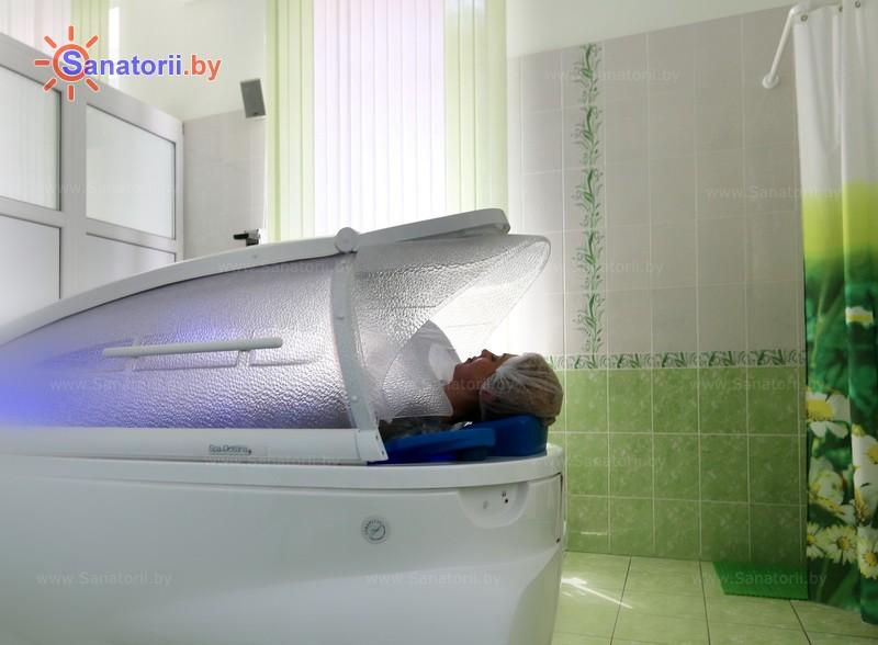Санатории Белоруссии Беларуси - санаторий Криница - Реабилитационная капсула (СПА-капсула)