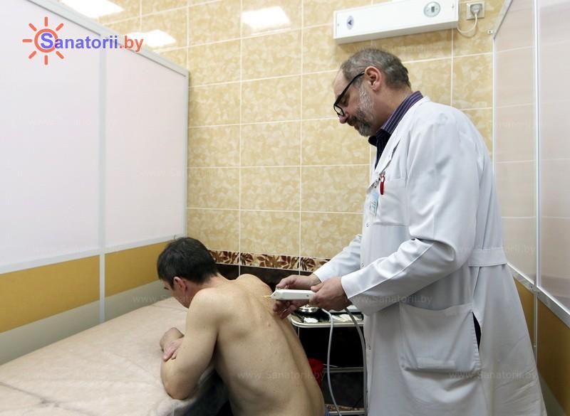 Санатории Белоруссии Беларуси - санаторий Криница - Карбокситерапия (газовые уколы)