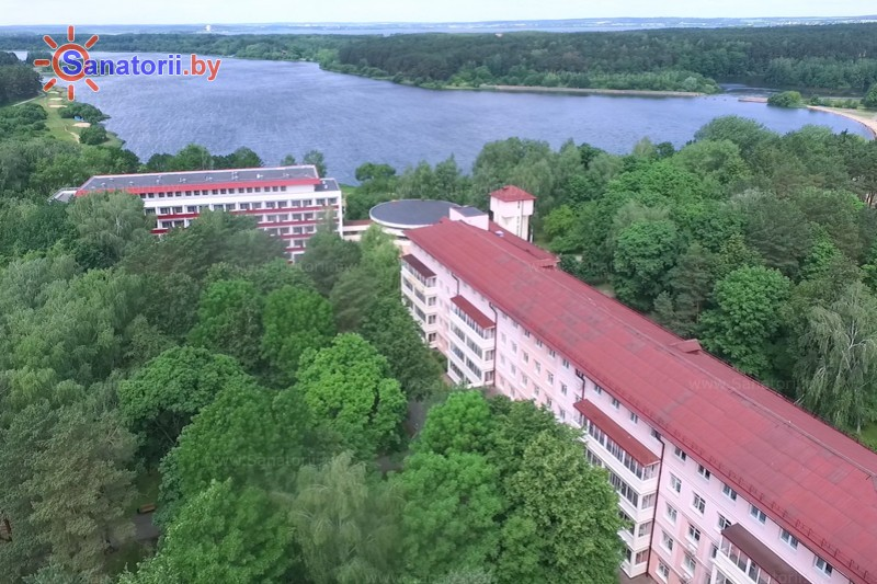 Health resort of Belarus - health resort Krinitsa - Territory