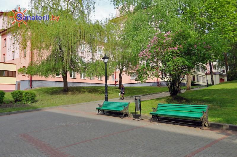 Санаторыі Беларусі - санаторый Крыніца - Тэрыторыя