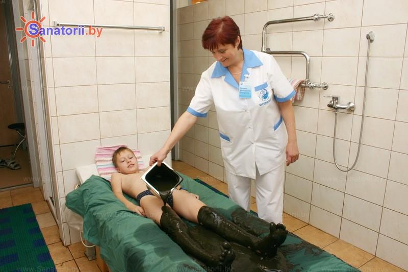 Санатории Белоруссии Беларуси - санаторий Озёрный - Грязелечение (пелоидотерапия)