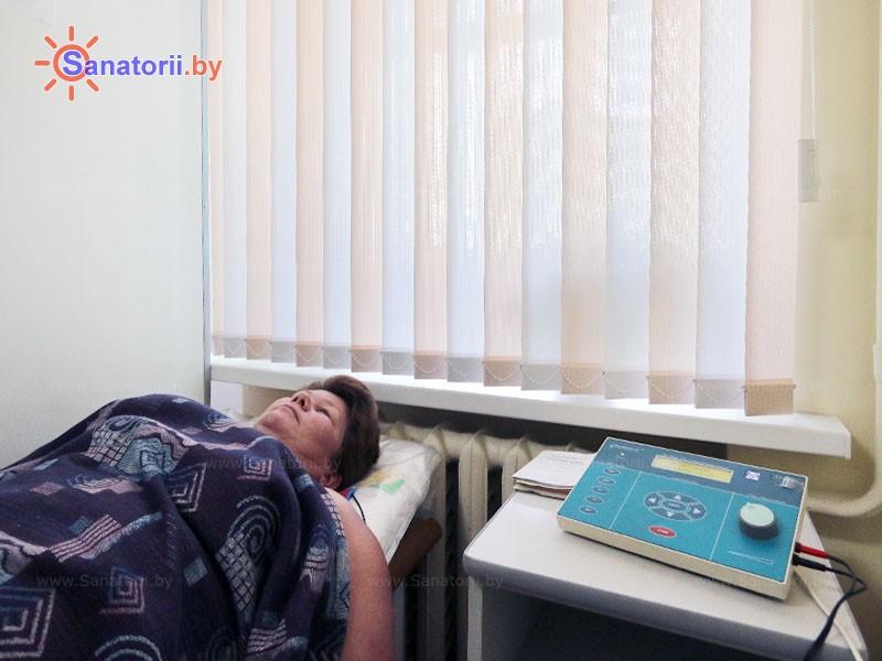 Санатории Белоруссии Беларуси - санаторий Чёнки - Электролечение