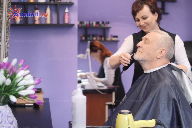 Санатории Белоруссии Беларуси - санаторий Чёнки - Парикмахерская