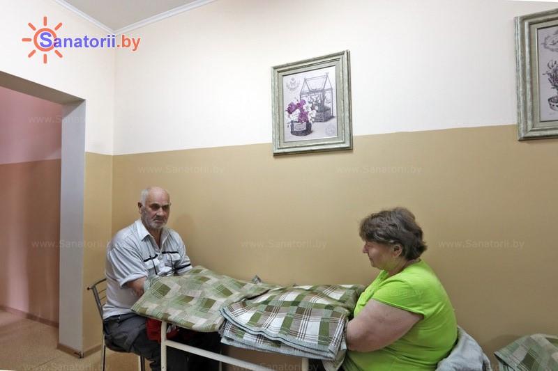 Санатории Белоруссии Беларуси - санаторий Чёнки - Озокерито-парафинолечение