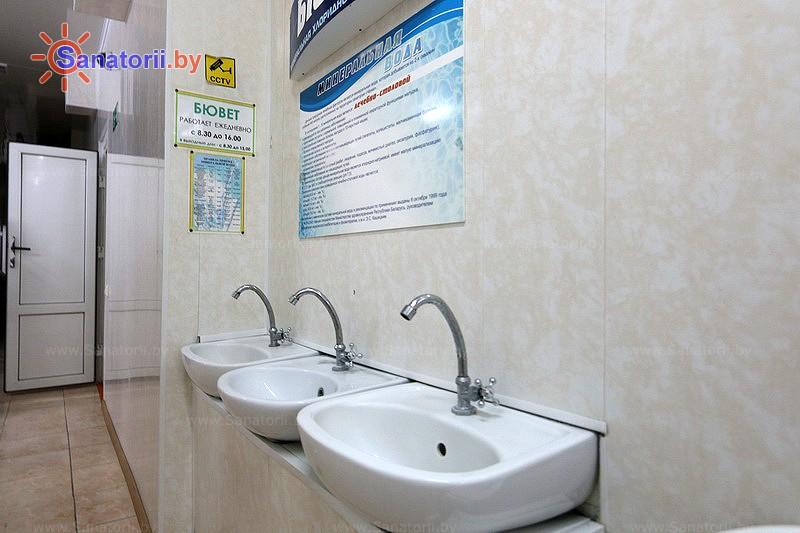 Санатории Белоруссии Беларуси - санаторий Чёнки - Бювет минеральной воды