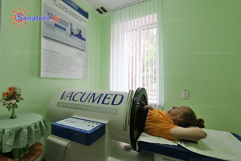 Санатории Белоруссии Беларуси - санаторий Чёнки - Вакуум-терапия