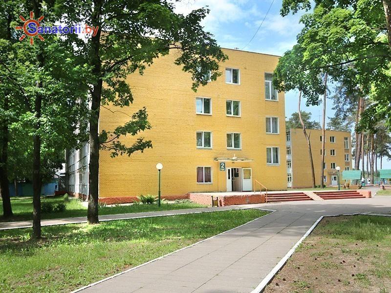 Санатории Белоруссии Беларуси - санаторий Чёнки - корпус №2