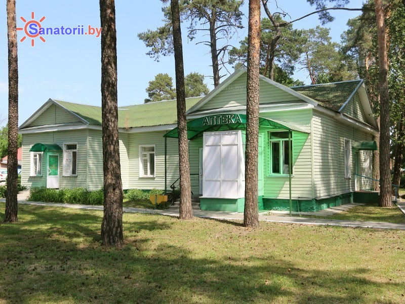 Санатории Белоруссии Беларуси - санаторий Чёнки - лечебные корпуса