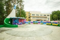 health resort Lepelski - Outdoor disco