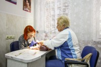 санаторый Лепельскі ваенны - Цырульня