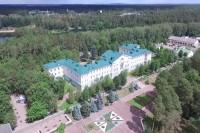 санатория Лепельский военный - Территория и природа