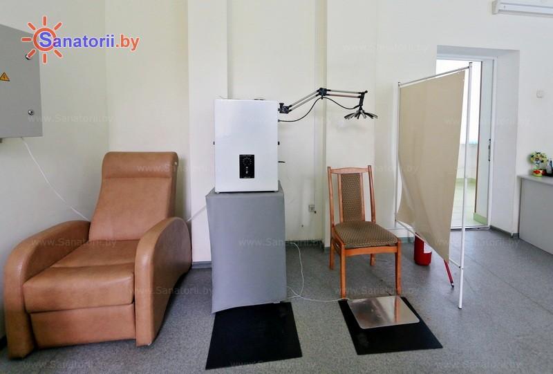 Санатории Белоруссии Беларуси - санаторий Лепельский военный - Электролечение