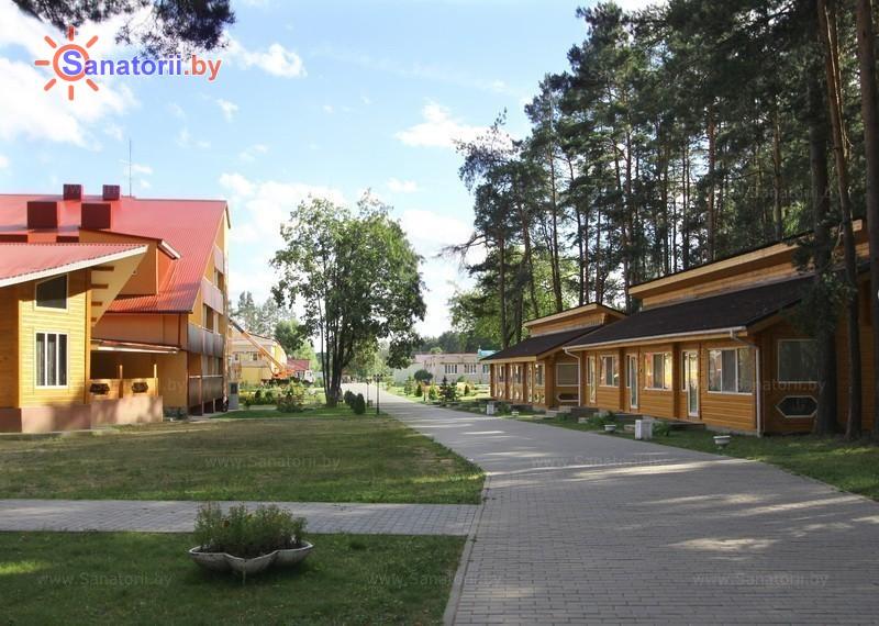 Санатории Белоруссии Беларуси - санаторий Лесные озера - Территория и природа