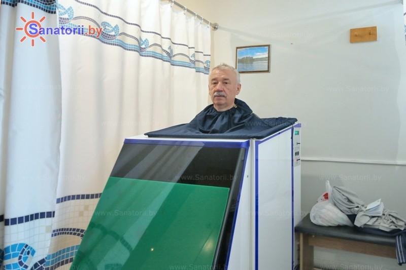 Санатории Белоруссии Беларуси - санаторий Лесные озера - Ванна сухая углекислая