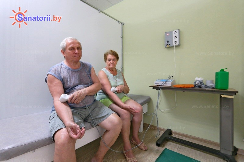 Санатории Белоруссии Беларуси - санаторий Лесные озера - Лазерная терапия