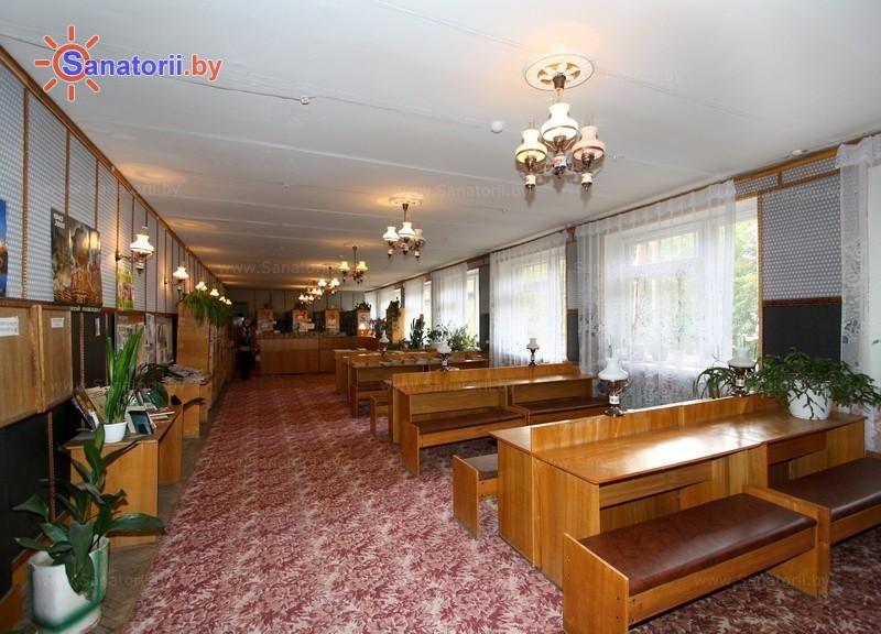 Санатории Белоруссии Беларуси - санаторий Лётцы - Библиотека