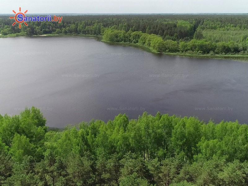 Санатории Белоруссии Беларуси - санаторий Лётцы - Водоём