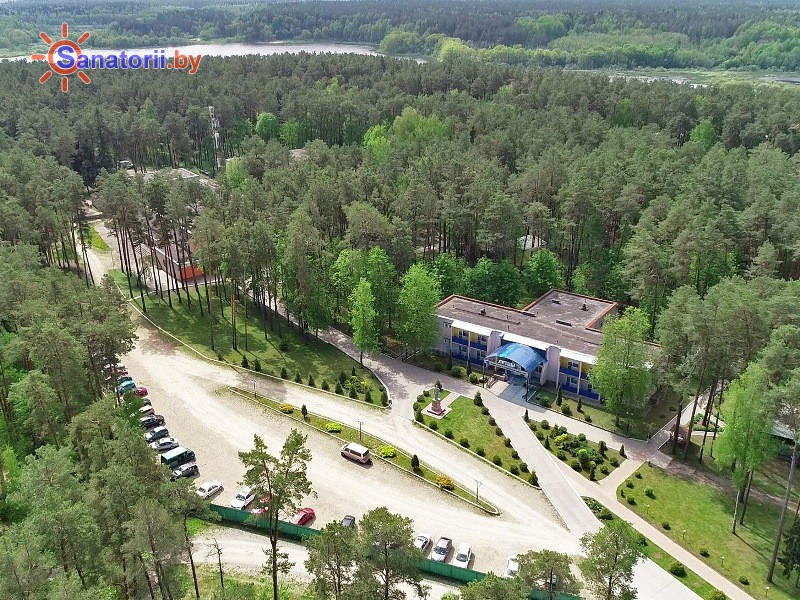 Санатории Белоруссии Беларуси - санаторий Лётцы - Территория и природа