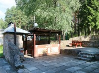 health resort Narochanski Bereg - Barbeque site