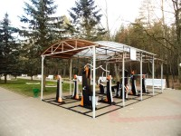 health resort Narochanski Bereg - Outdoor gym