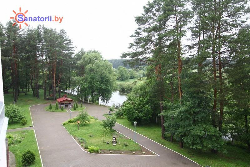 Санатории Белоруссии Беларуси - санаторий Подъельники - Территория и природа