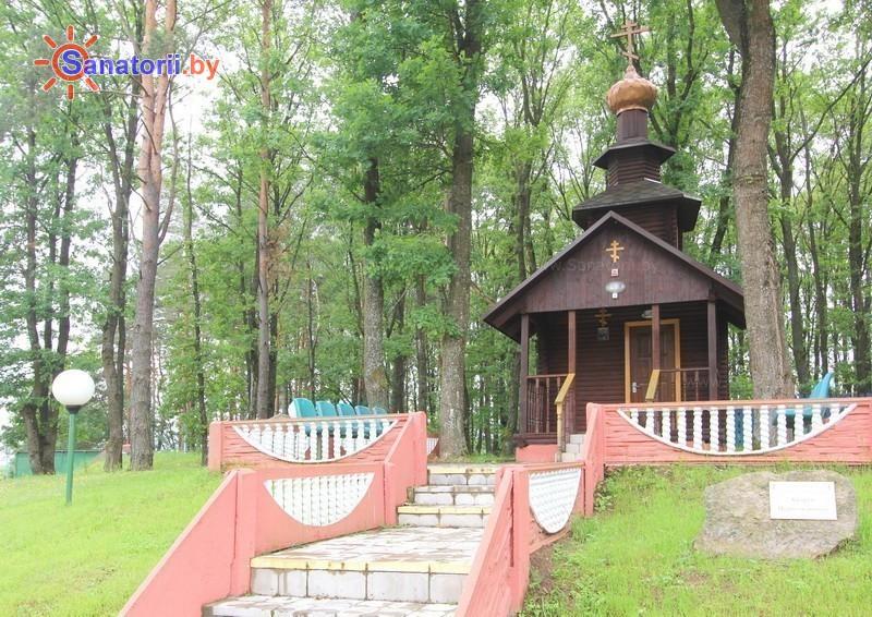 Санатории Белоруссии Беларуси - санаторий Подъельники - часовня