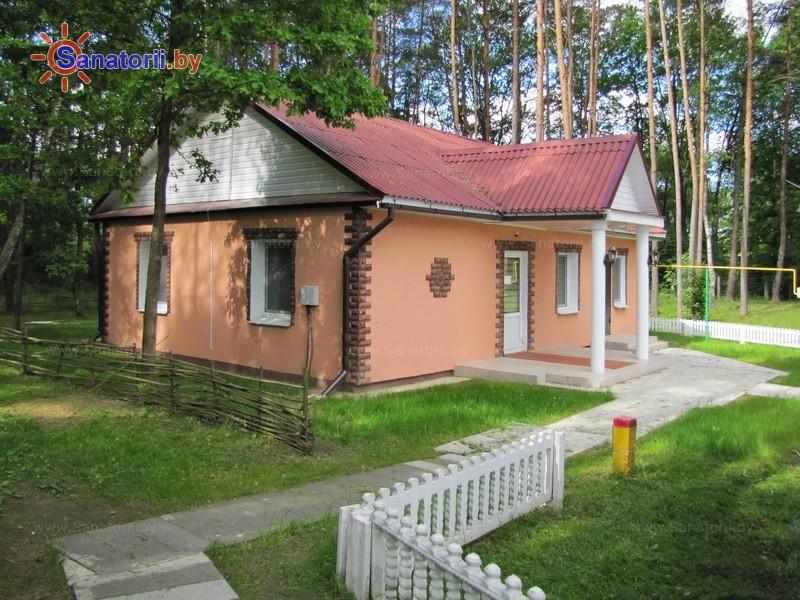 Санатории Белоруссии Беларуси - санаторий Подъельники - коттедж