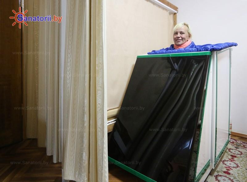 Санаторыі Беларусі - санаторый Пад'ельнiкi - Ванна сухая вуглякіслая