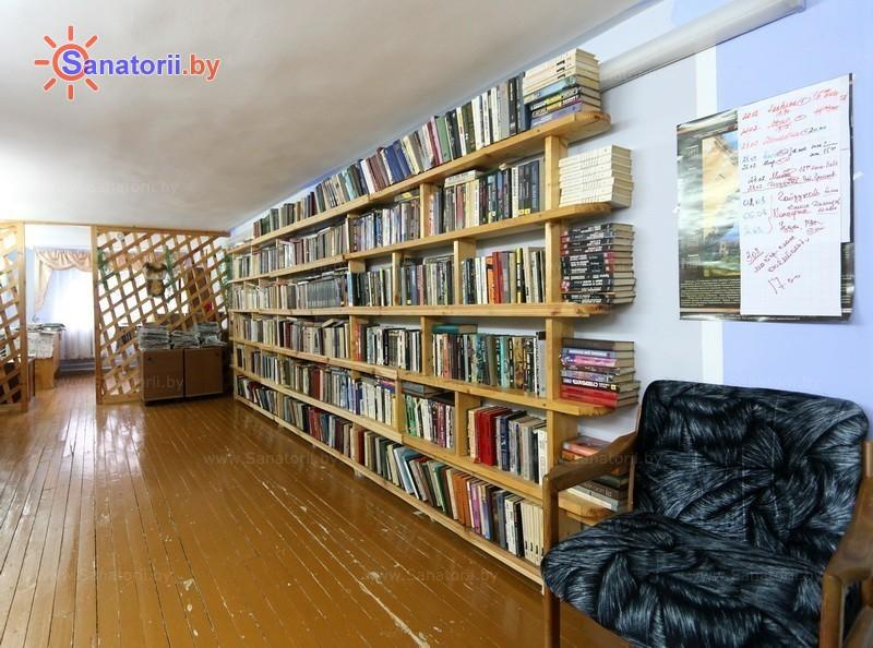 Санатории Белоруссии Беларуси - санаторий Подъельники - Библиотека