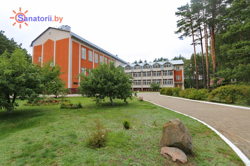 Health resort of Belarus - health resort Podjelniki - main building