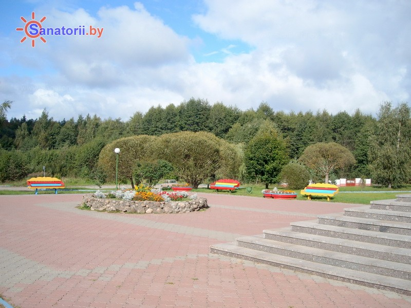 Санатории Белоруссии Беларуси - санаторий Рудня - Территория и природа