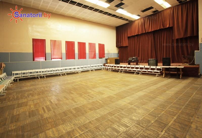 Санатории Белоруссии Беларуси - санаторий Рудня - Танцевальный зал