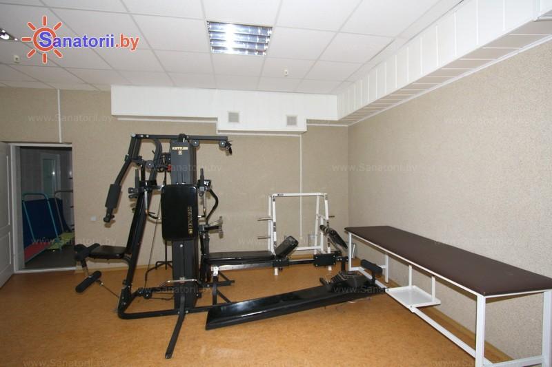 Санатории Белоруссии Беларуси - санаторий Рудня - Тренажерный зал (механотерапия)