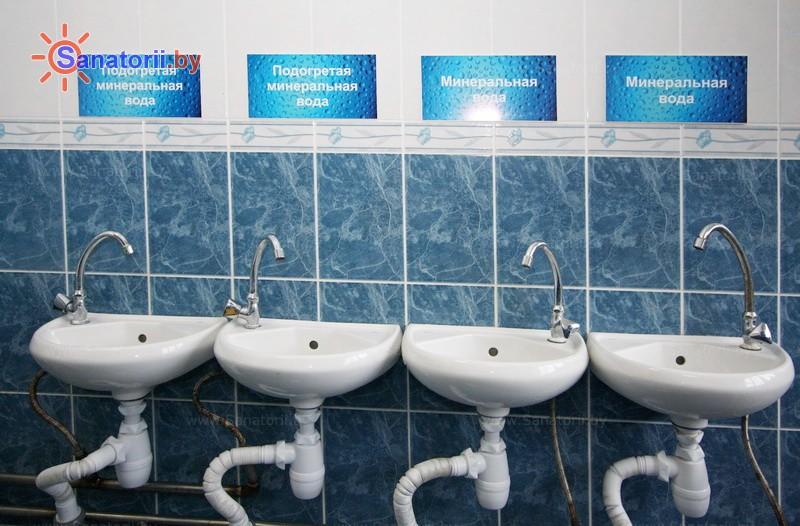 Санатории Белоруссии Беларуси - санаторий Рудня - Бювет минеральной воды