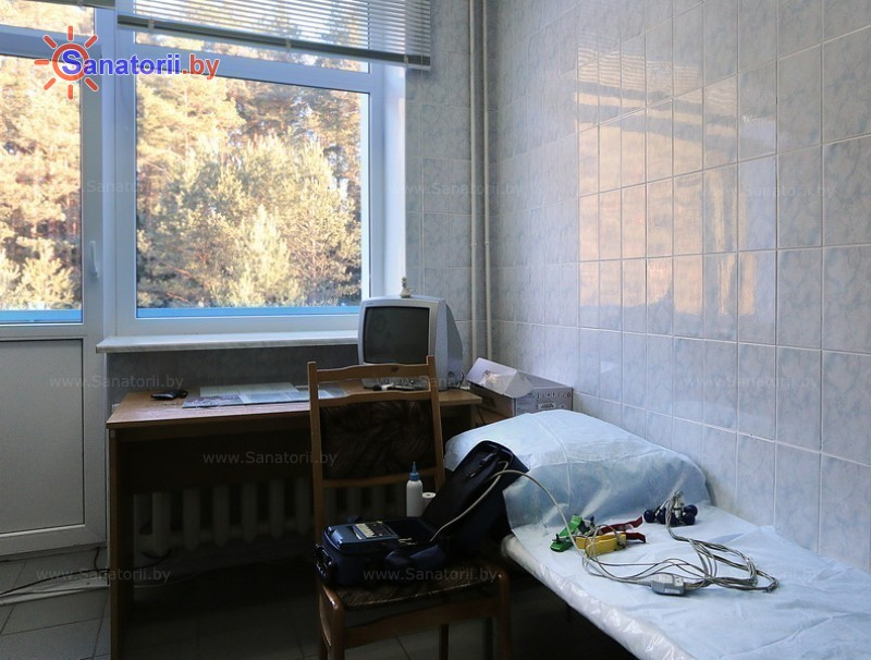 Санатории Белоруссии Беларуси - санаторий Рудня - Электрокардиография