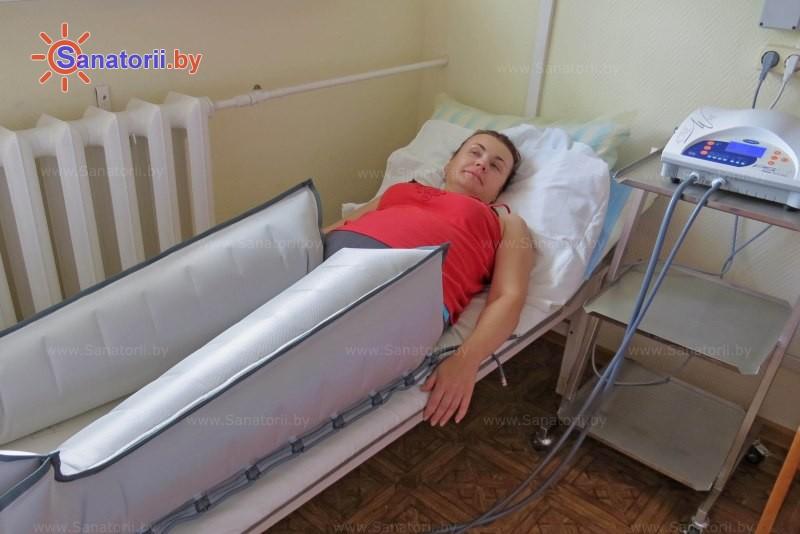 Санатории Белоруссии Беларуси - санаторий Рудня - Компрессионная терапия