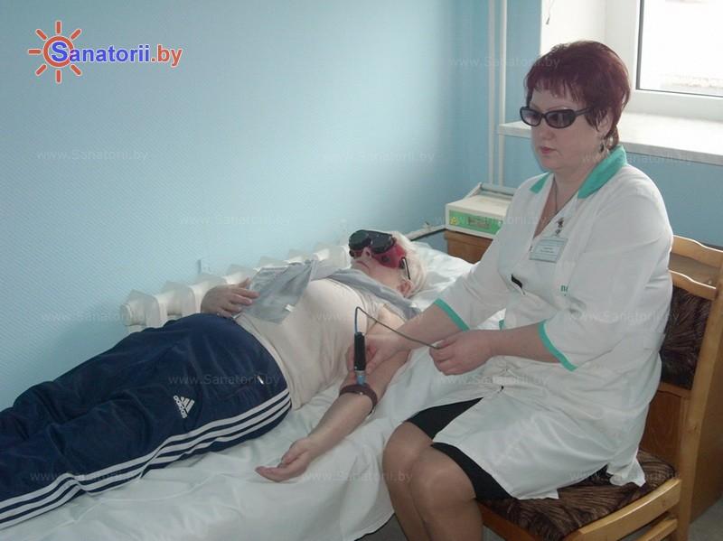 Санатории Белоруссии Беларуси - санаторий Рудня - Лазерная терапия