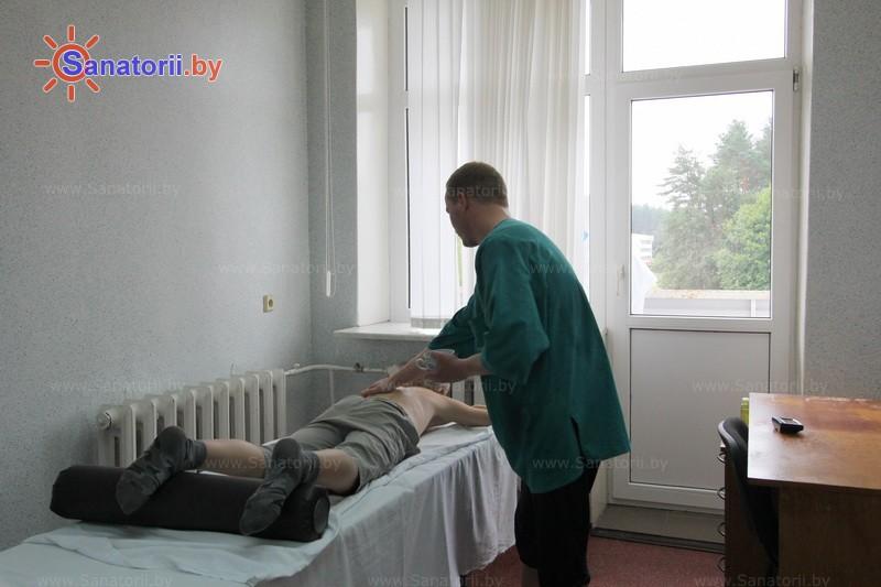 Санатории Белоруссии Беларуси - санаторий Рудня - Массаж ручной
