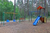 health resort Belaya Rus - Playground for children