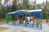 health resort Belaya Rus - Outdoor gym