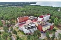 санатория Белая Русь - Территория и природа