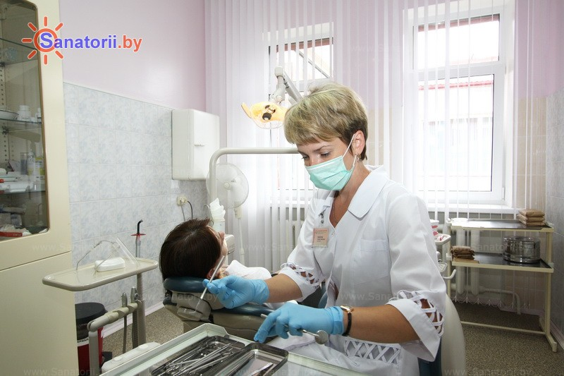 Санатории Белоруссии Беларуси - санаторий Белая Русь - Стоматология