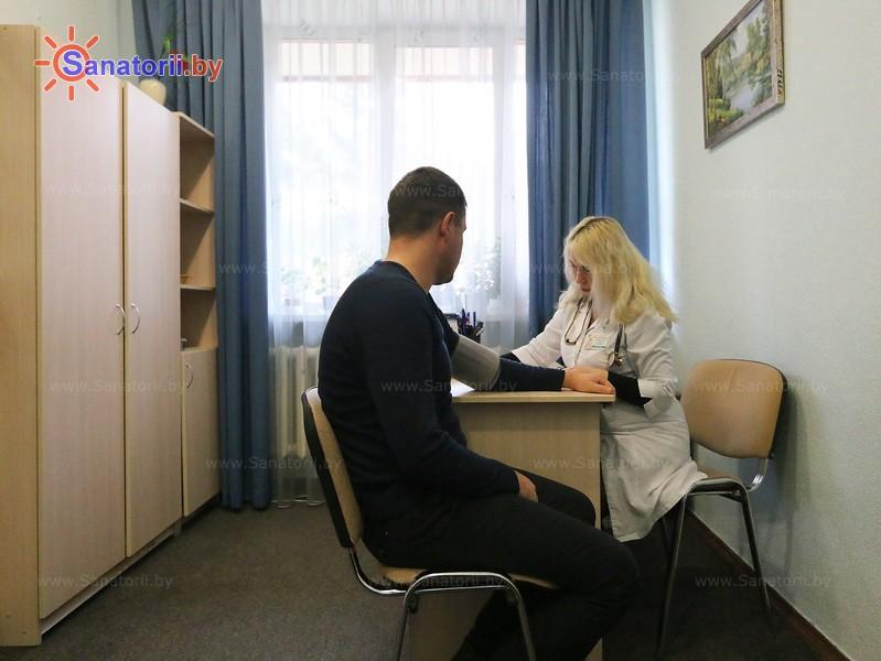 Санатории Белоруссии Беларуси - санаторий Белая Русь - Кабинеты профильных специалистов