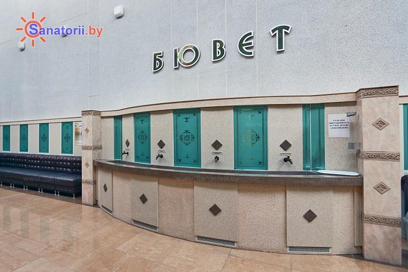 Санатории Белоруссии Беларуси - санаторий Белая Русь - Бювет минеральной воды