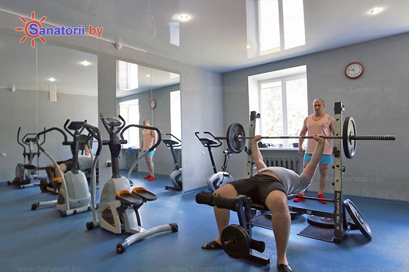 Санатории Белоруссии Беларуси - санаторий Белая Русь - Тренажерный зал (механотерапия)