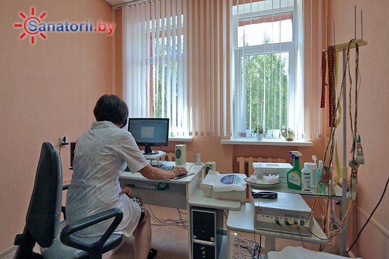 Санатории Белоруссии Беларуси - санаторий Белая Русь - Электрокардиография